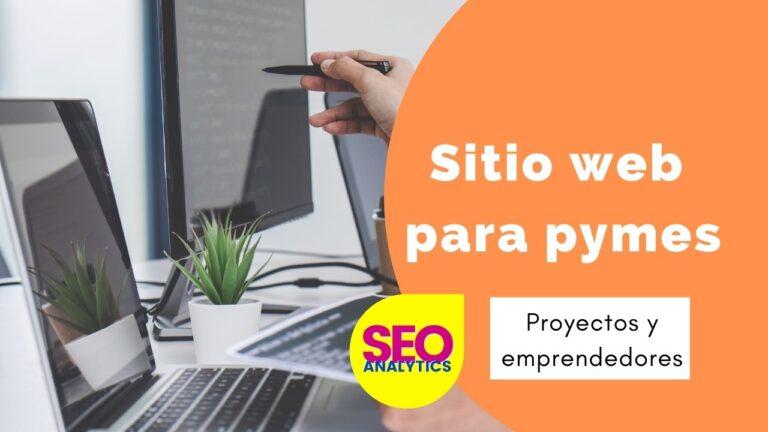 sitio web para pymes